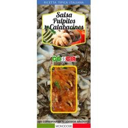 Eledones and Zucchini Sauce