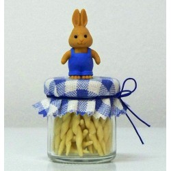 Gadget with Pasta and Little Rabbit